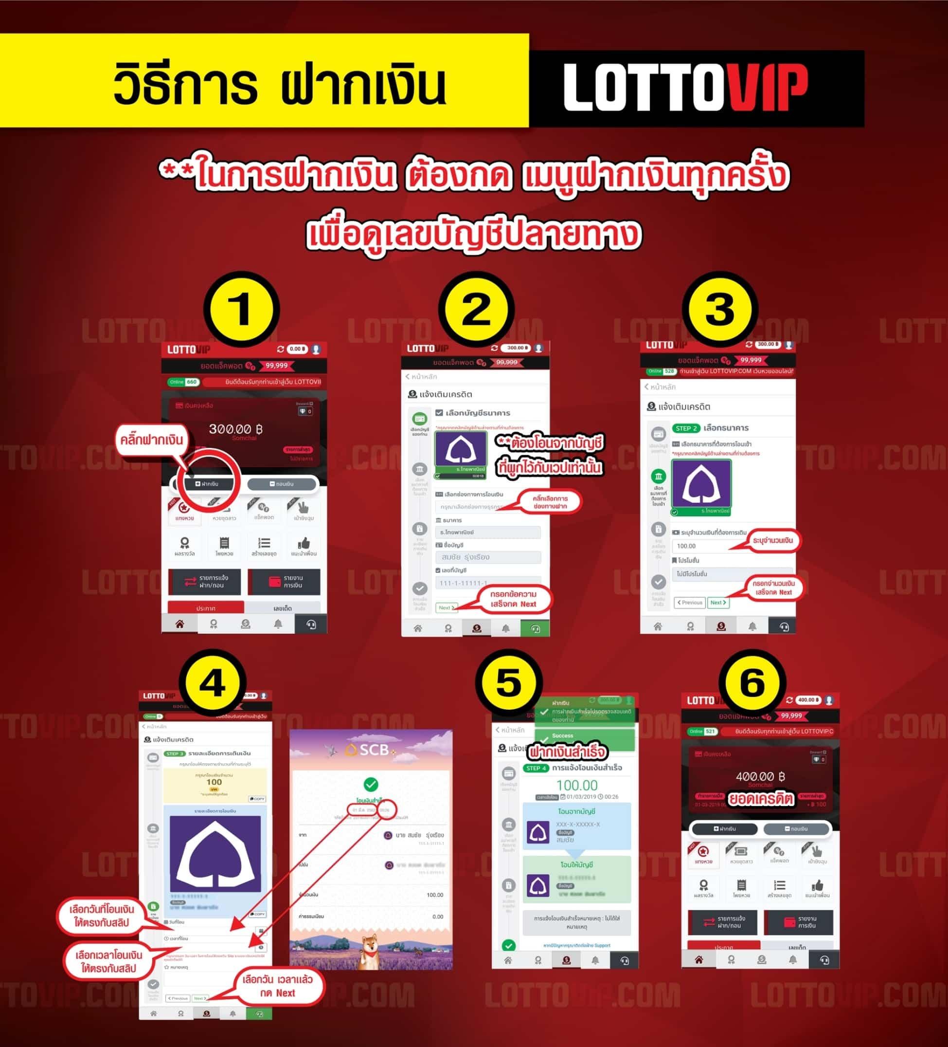 ฝากเงิน-lottovip